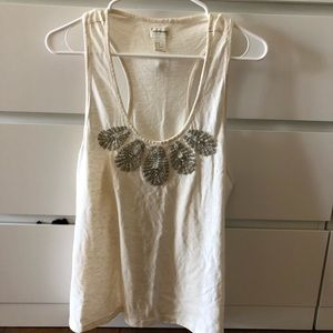 New without tags. H&M sequined tank